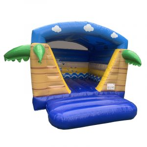 mini beach springkussen met dak